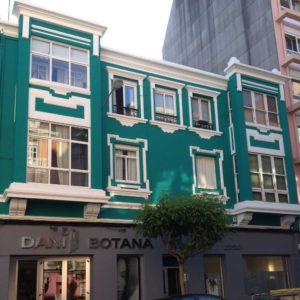 Fachadas Coruña Visanyo