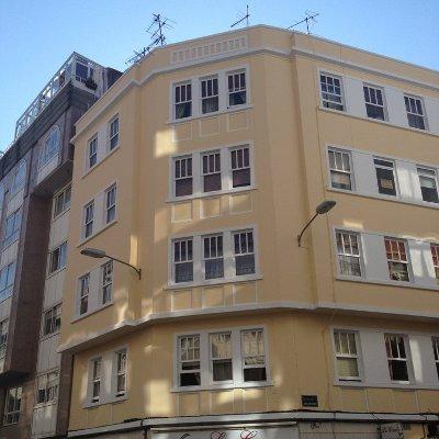 Rehabilitación fachadas Coruña Visanyo 1