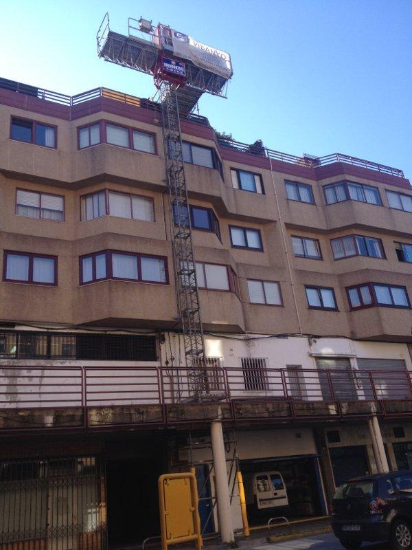 Tejado Santa Cristina Coruña 1