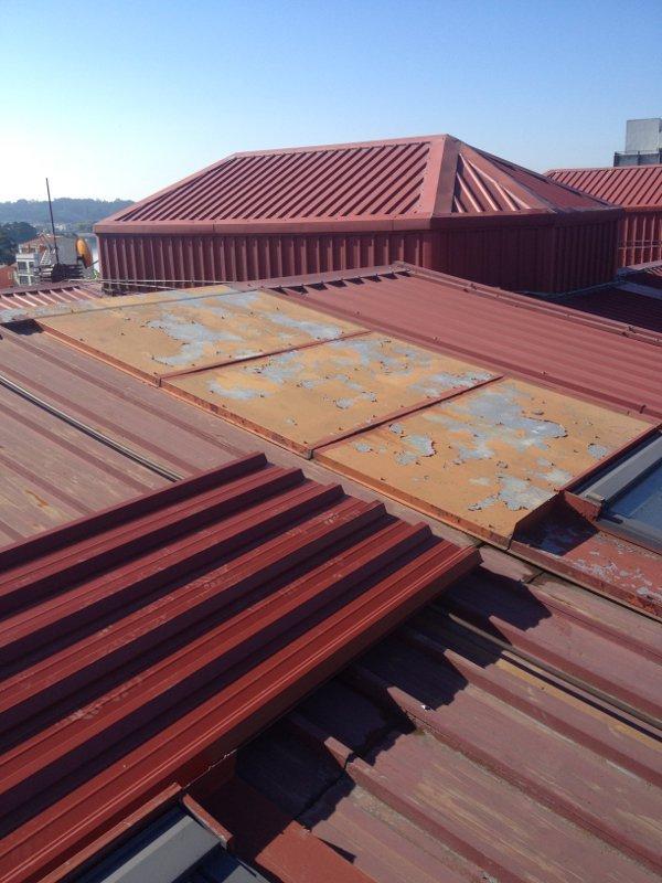 Tejado Santa Cristina Coruña 5