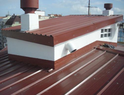 Construcción de tejado chapa sándwich en Os Castros A Coruña