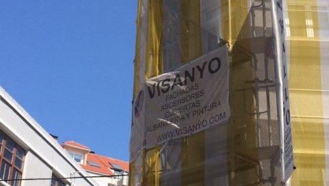 Impermeabilización de cubierta Calle Arenal Coruña 1