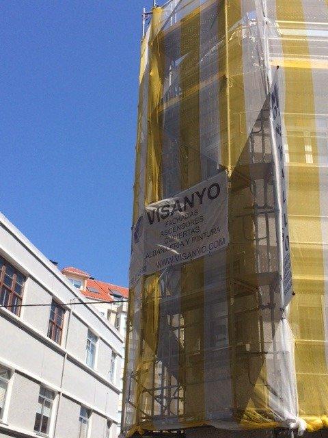Impermeabilización de cubierta Calle Arenal A Coruña