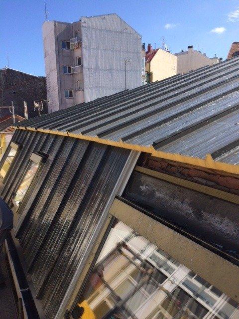 Impermeabilización de cubierta Calle Arenal Coruña 4