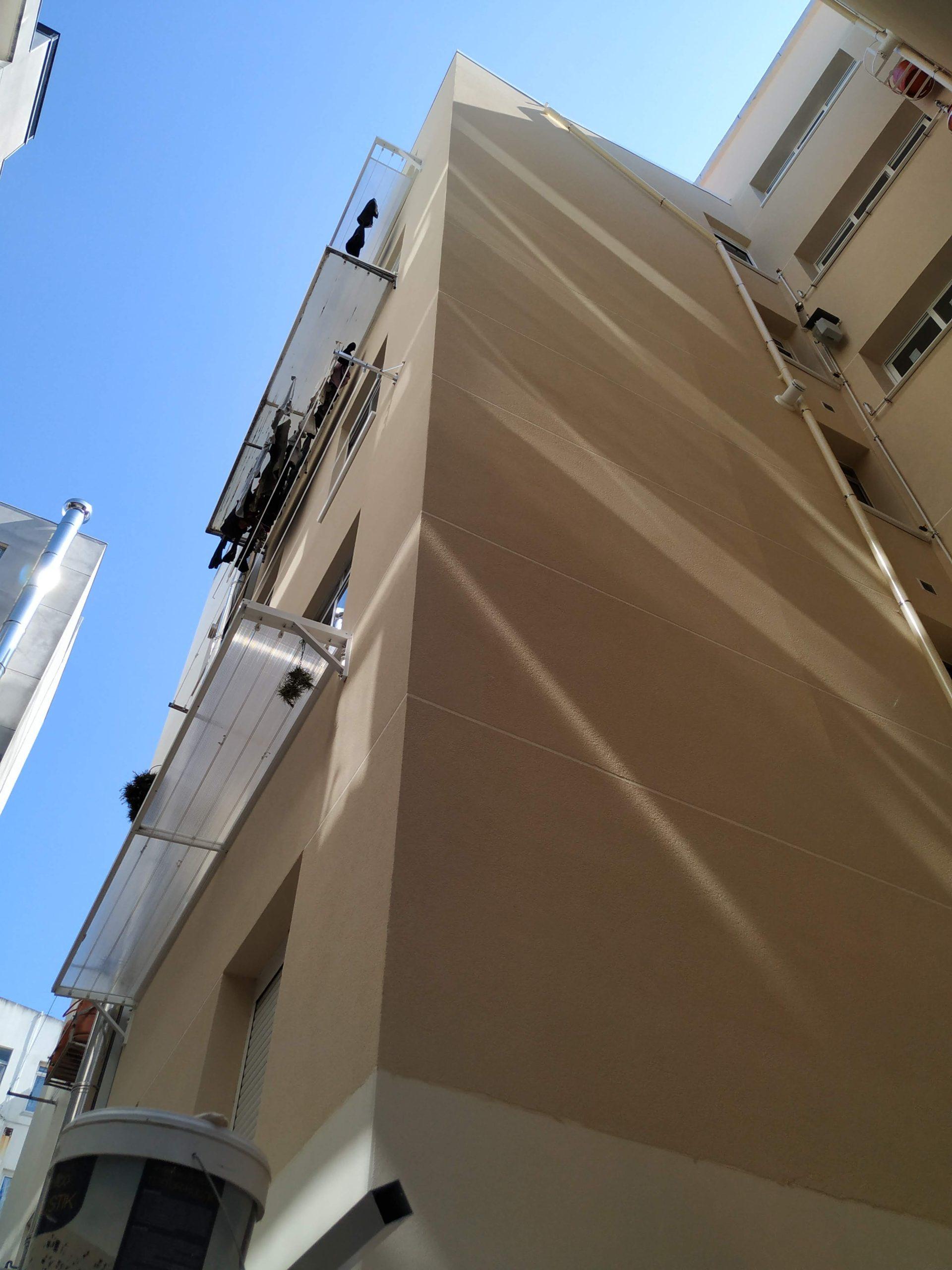 Rehabilitación de fachada en Eirís