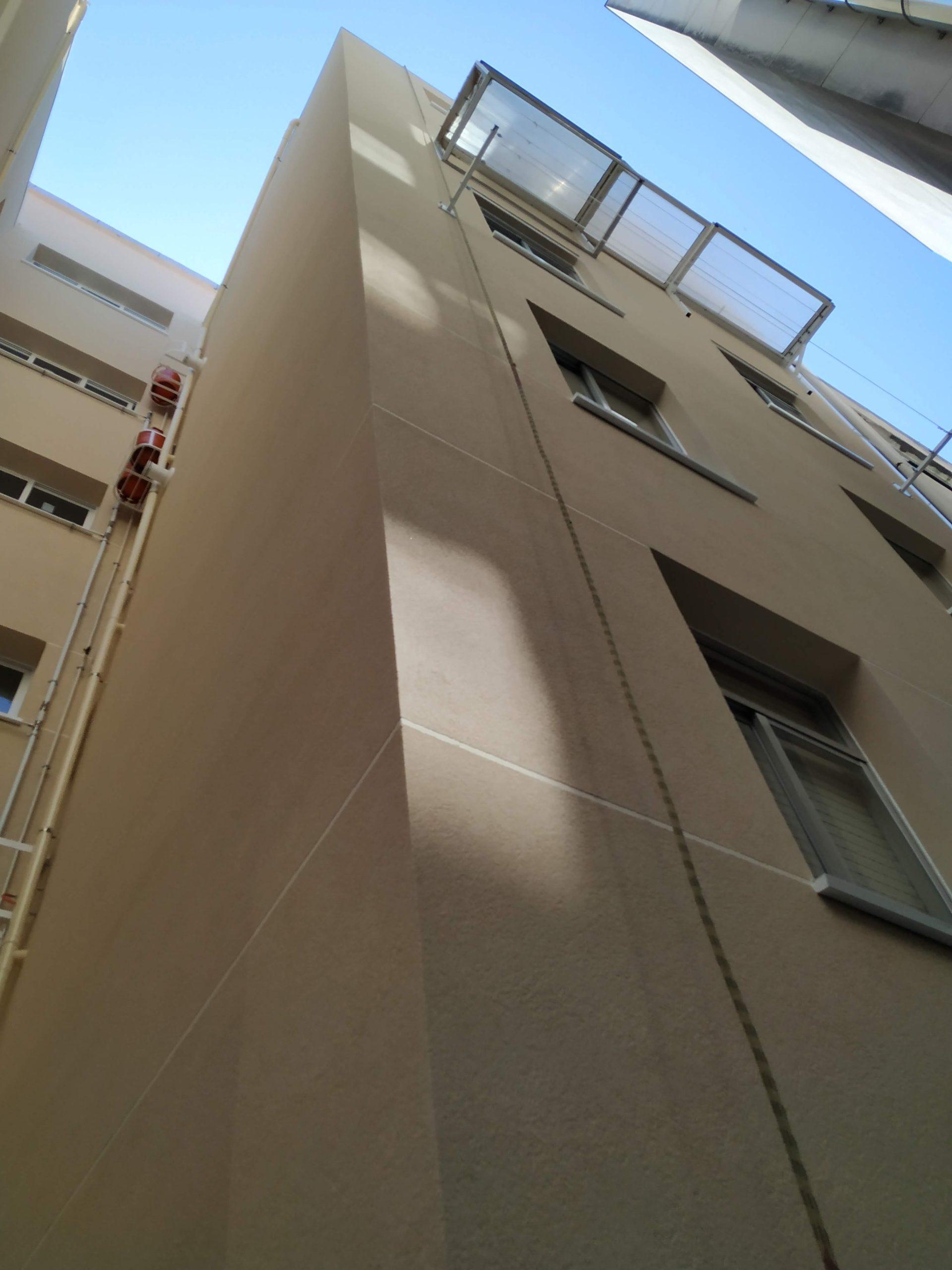 Rehabilitación fachada Eirís A Coruña 2