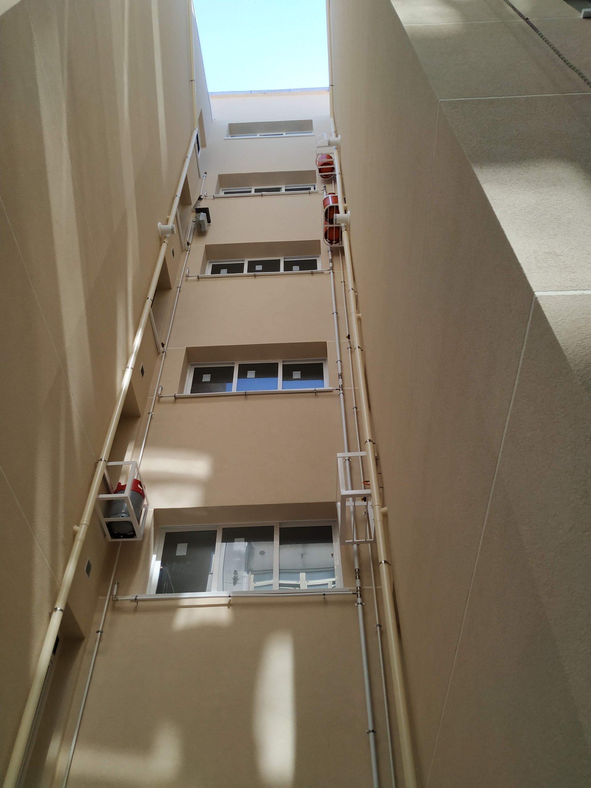 Rehabilitación fachada Eirís A Coruña 3